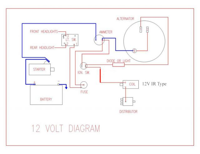 6 volt farmall m wiring diagram. Black Bedroom Furniture Sets. Home Design Ideas