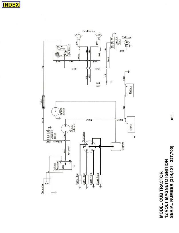 charmant 1952 farmall cub schaltplan bilder elektrische rh infomains info 1950 Farmall Cub Wiring-Diagram Farmall Wiring Harness Diagram