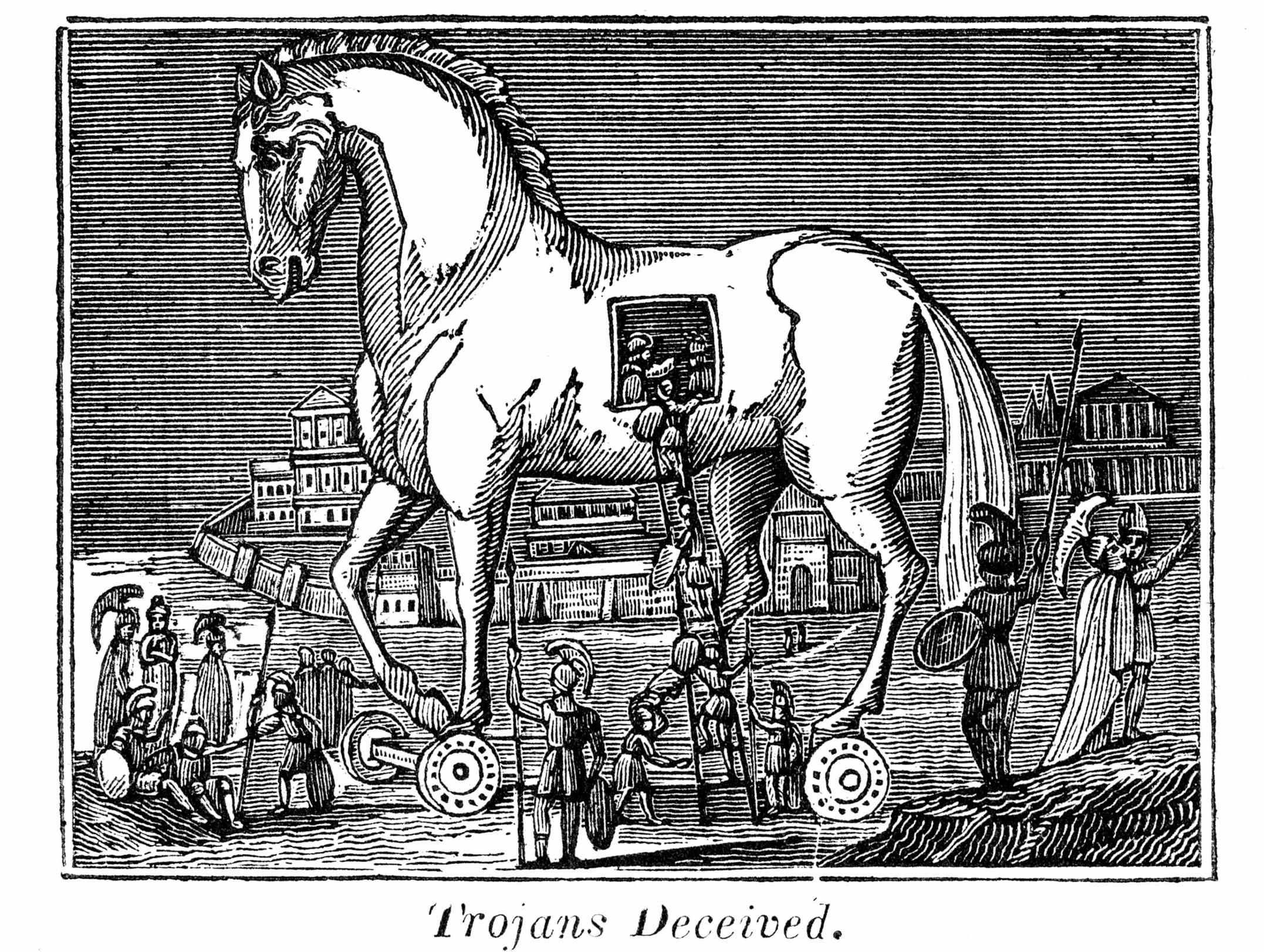 Teach Besides Me Odysseus And The Trojan Horse Story