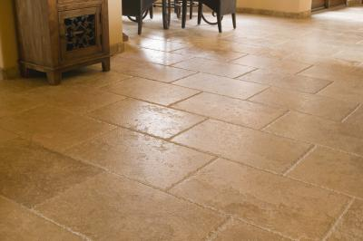 how to sand textured porcelain tiles