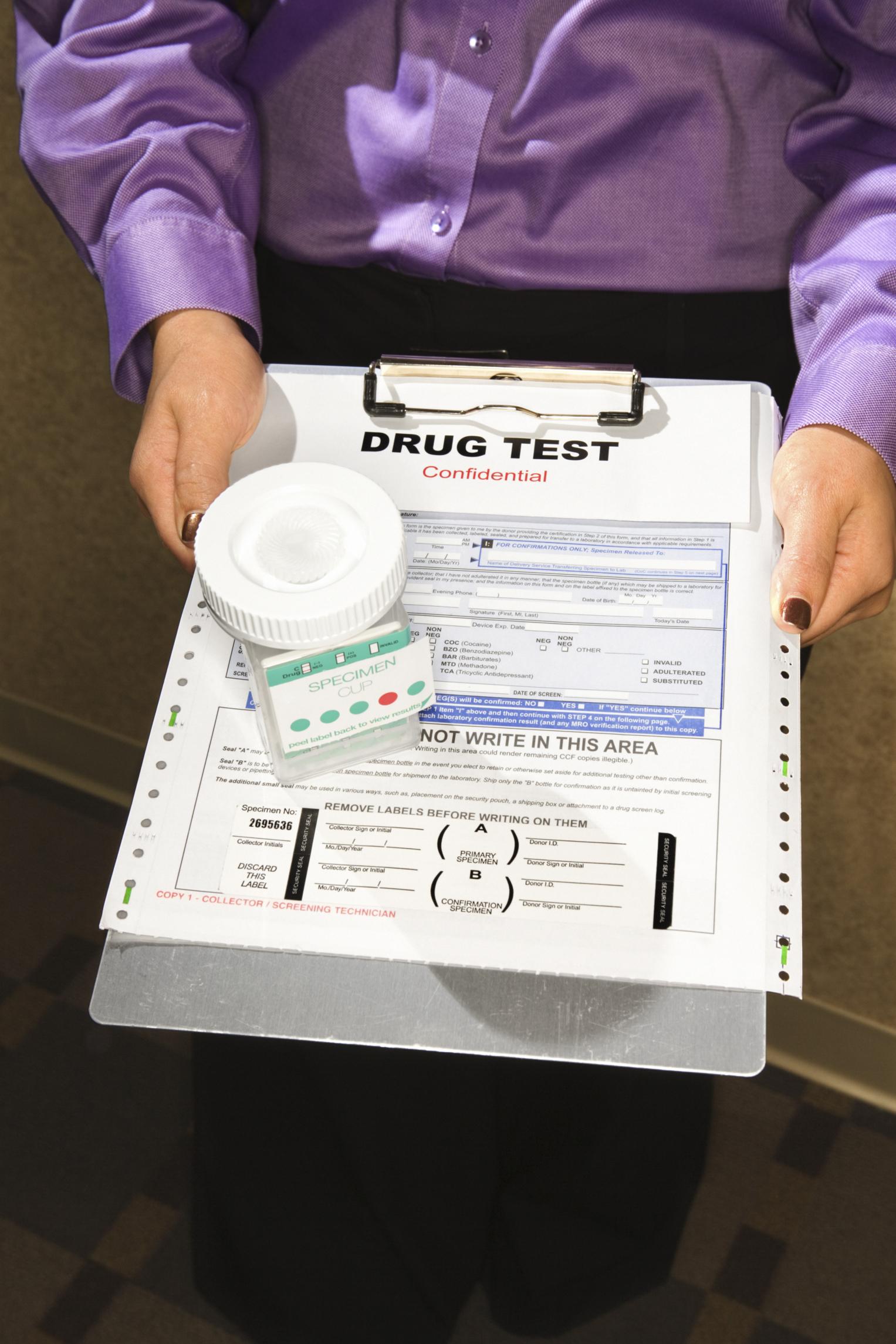 Urine Different Drug Cups Test