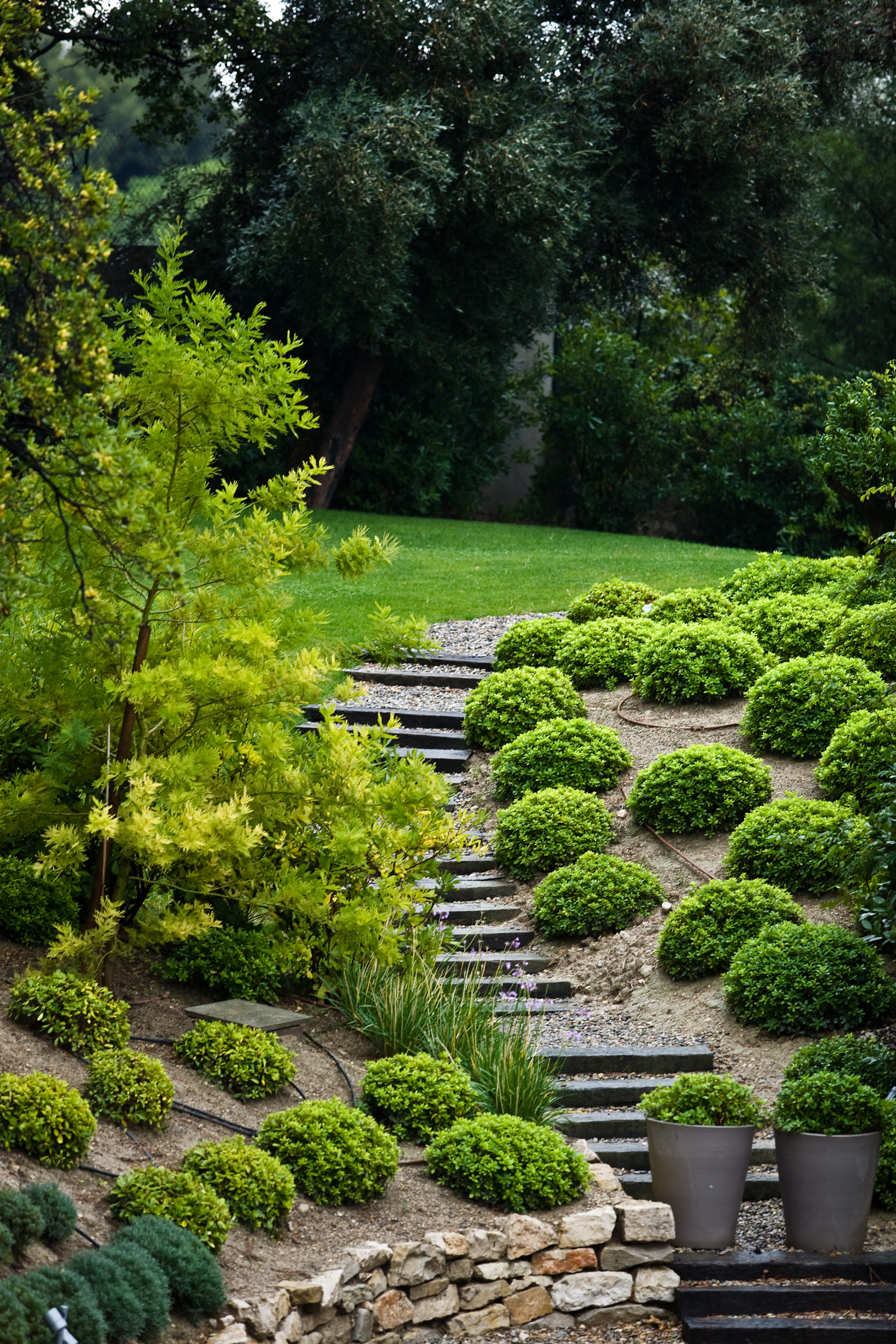 Landscaping Ideas: How to Stabilize a Steep Slope | Home ... on Steep Sloping Garden Ideas  id=24893