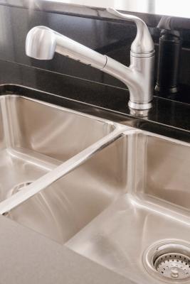 caulk on an undermount granite kitchen sink