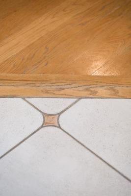 ceramic tile to pergo flooring