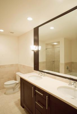 Height of Bathroom Sconces   Home Guides   SF Gate on Height Of Bathroom Sconce Lights id=54676