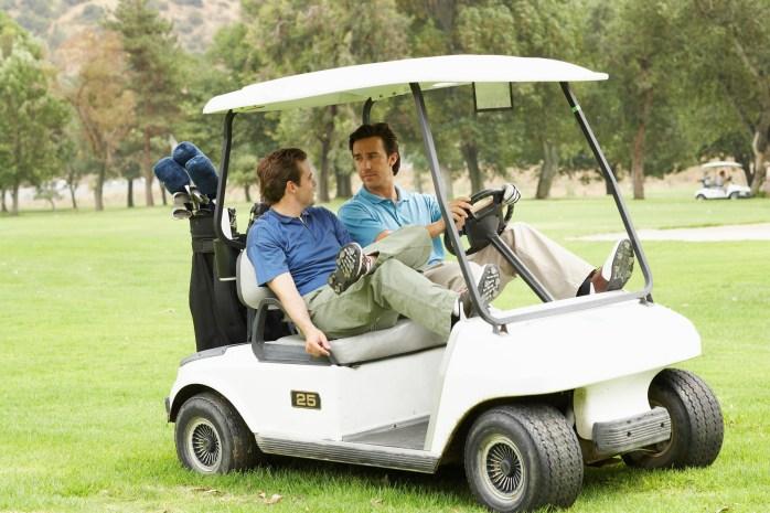 Used EZ Go golf carts