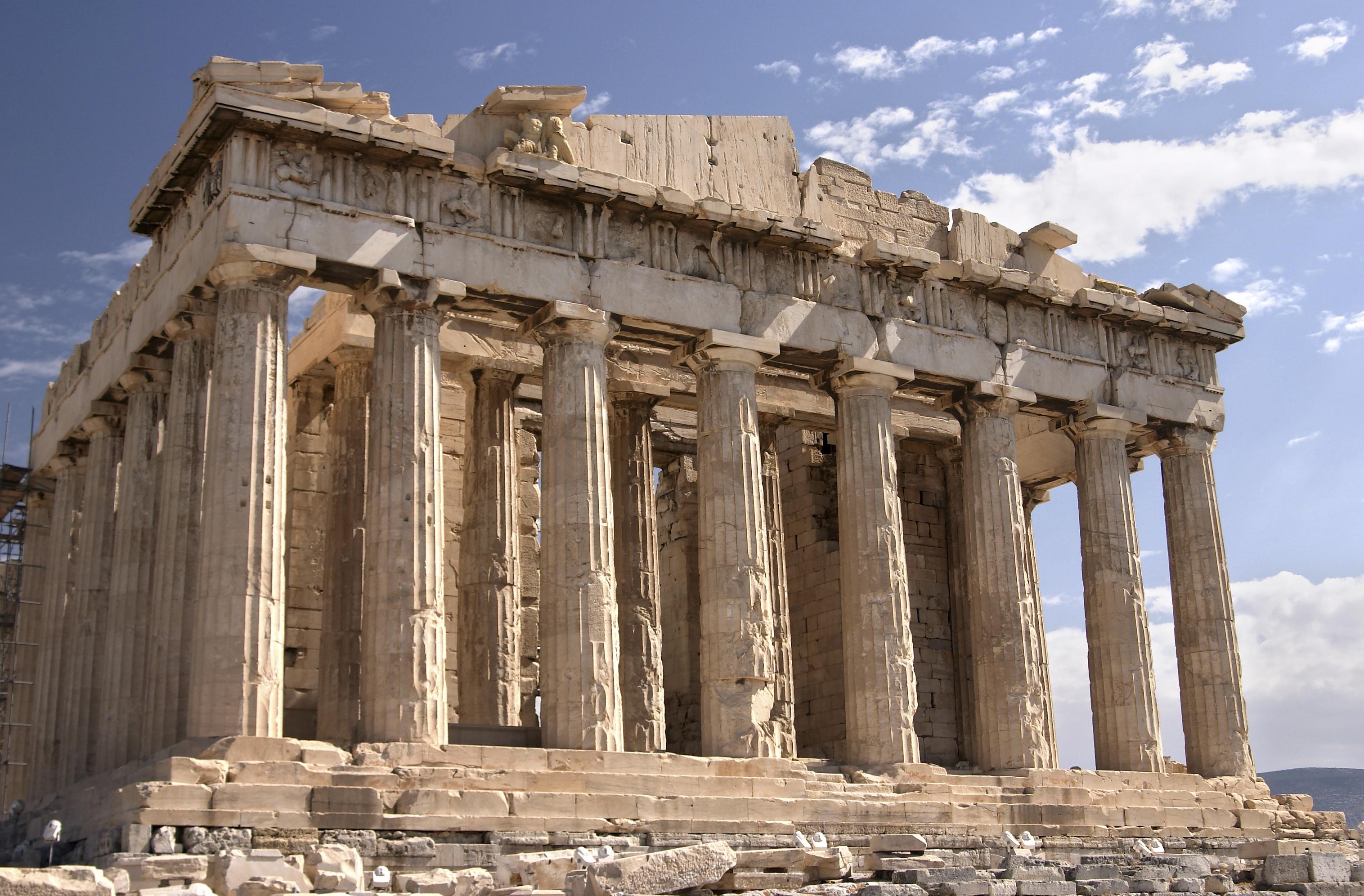 3 Types Of Greek Columns