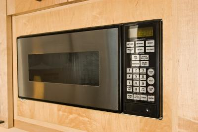 how to remove a microwave trim kit