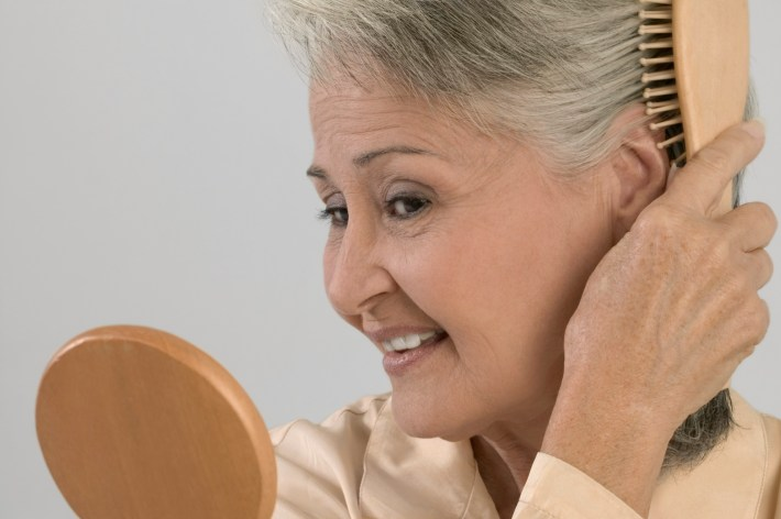 hairstyles for fine hair in older women | leaftv