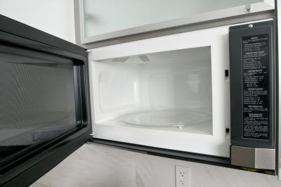 to remove a whirlpool microwave above