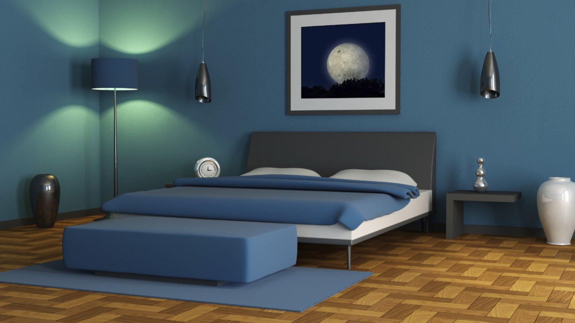Gesunde Wandfarbe Schlafzimmer   Interior Design Muji ...