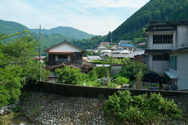 A quick view of the surroundings here in Koguchi