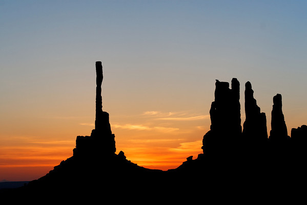 Monument Valley in the morning
