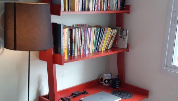 Escrivaninha Estante Para Livros Movel Tok E Stok Usado 31148403 Enjoei