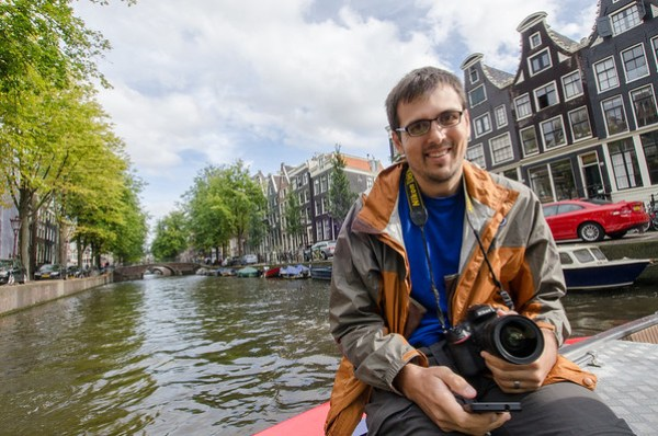 Kevin in Amsterdam