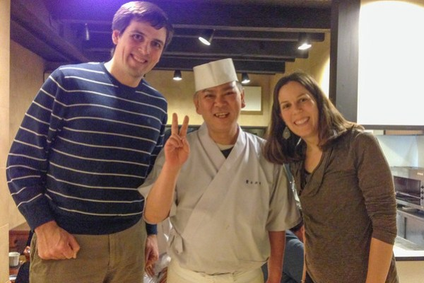 """Japanese Food: No """"wait staff"""" only apprentice chefs"""