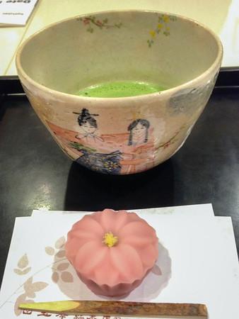 Japanese Food: Traditional tea practice