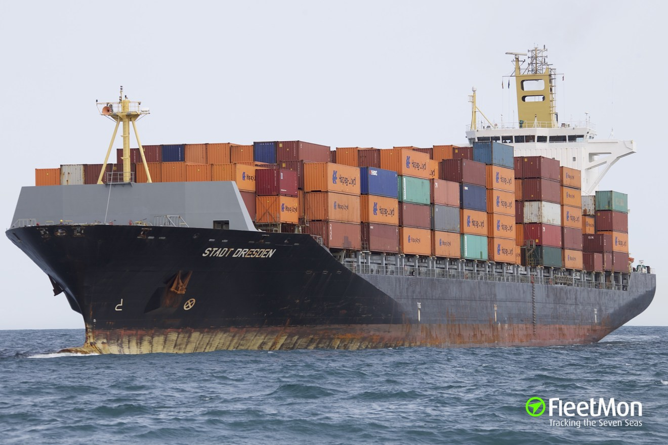9 stowaways found in container, remained on board, Greece. UPDATE taken  off. | STADT DRESDEN - FleetMon Maritime News