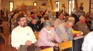 1 les 3 groupes de La Communion, étaient réunis depuis le matin
