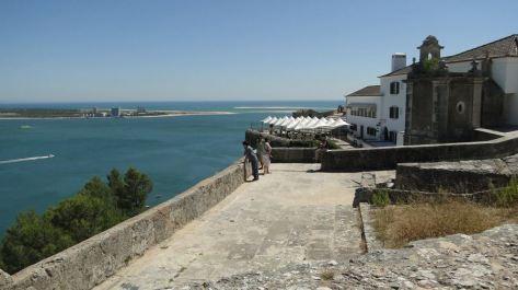 De là, nous allons au château São Filipe de Sétubal construit en 1590