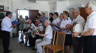 """Le groupe musical des """"Amigos de Lagameças"""" nous permet de danser..."""