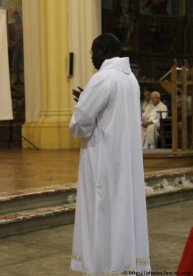 Fr Basile dit sa disponibilité