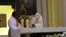 Préparation de l'autel