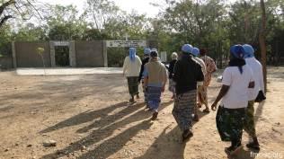 En route vers le sanctuaire marial de ND de l'Atacora