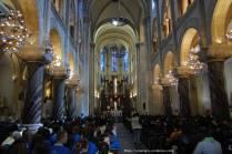 Lundi après midi, messe du diocèse de Meaux