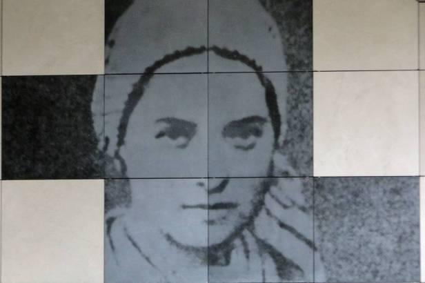 Un chemin avec Ste Bernadette