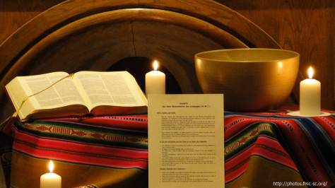 Rappel du baptême et charte des amis Missionnaires des Campagnes