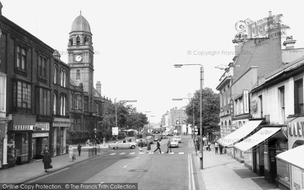 Hyde, Market Street 1968 - Francis Frith