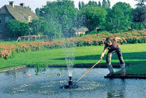 installer un jet d eau de bassin gamm