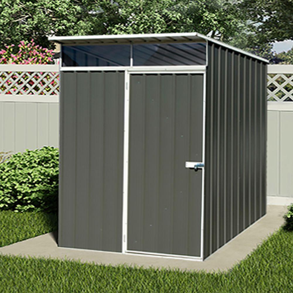 petit abri de jardin metal 2 52 m ep 0 35 mm lofty