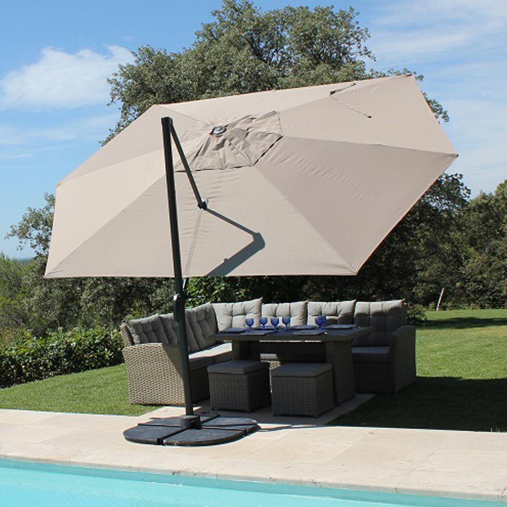 parasol decentre