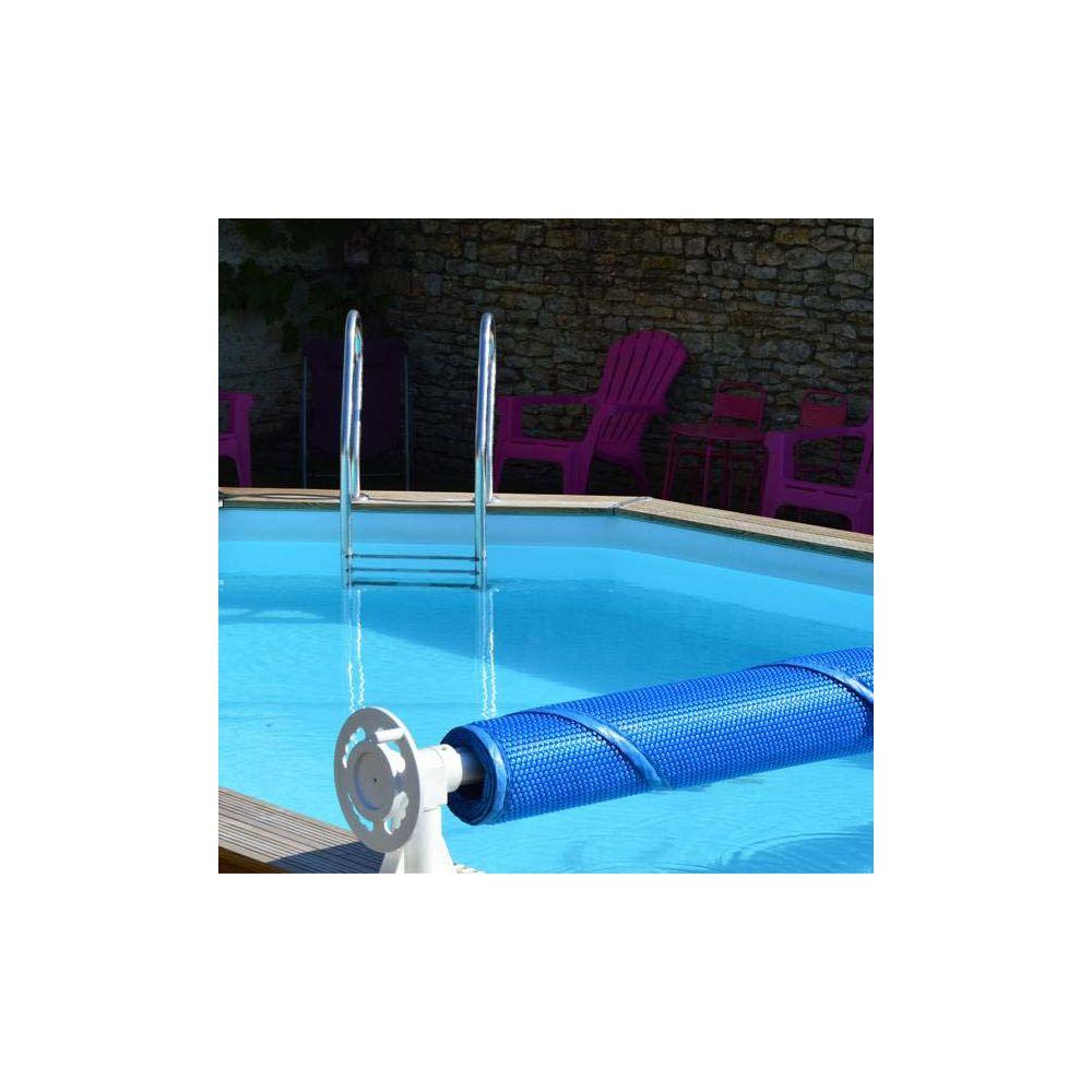 enrouleur luxe de bache ete pour piscine hors sol
