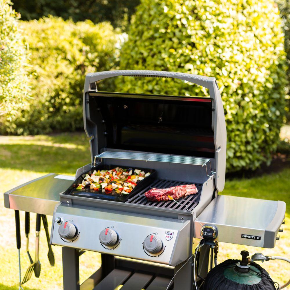 barbecue gaz weber spirit ii e 310 noir