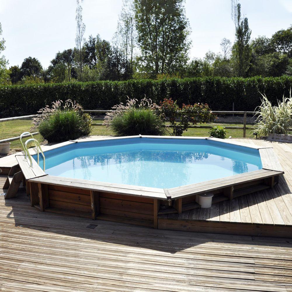 piscine en bois traite vasto d 4 30 m sunbay
