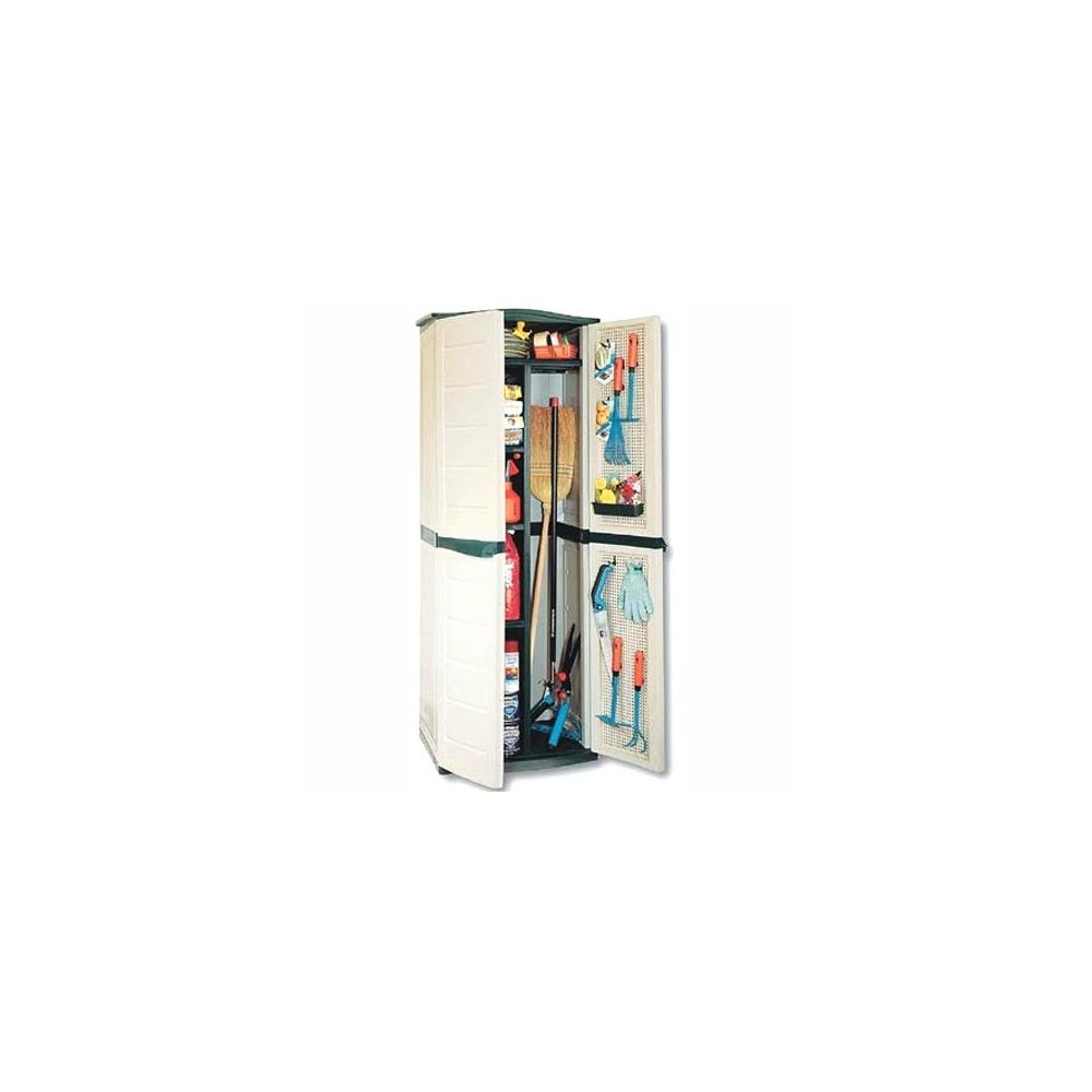 armoire haute de jardin 450l en resine