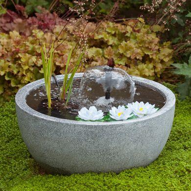 bassins et fontaines gamm vert