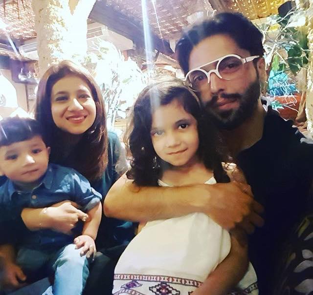 Fahad Mustafa With Family Arts Amp Entertainment Images