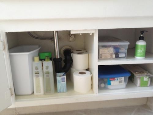 Minimalist Monday Declutter Your Bathroom Happy Herbivore