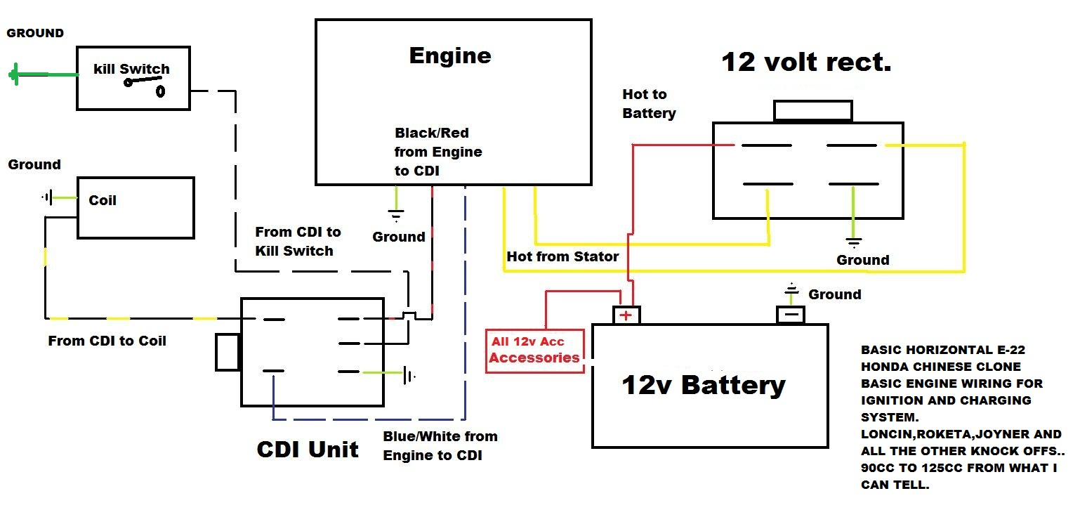 Wiring Diagram Honda Crf 100 Electrical Diagrams 70 2002 Xr Specifications