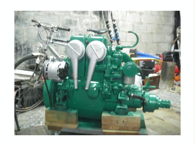 Motor Volvo Penta Md 11 C 23hp Second Hand