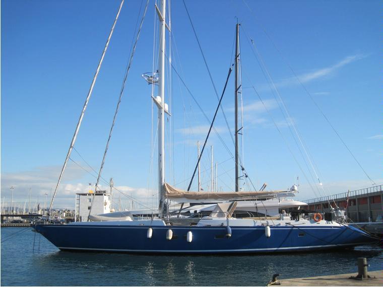 100 Ron Holland Aluminium Sailing Yacht In Puglia