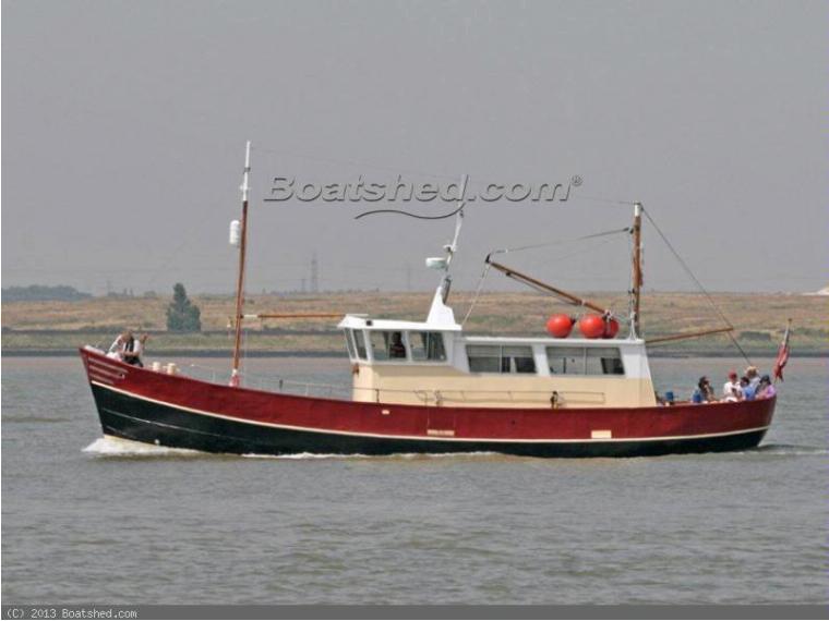 Dutch Shipyard Dutch Trawler Converted MFV 52ft In Sane