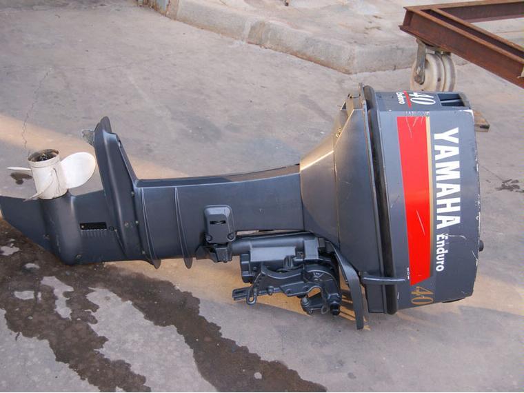 Motor Yamaha Enduro 40 Cv 2T Como Nuevo De Seconde Main 53504 INautia