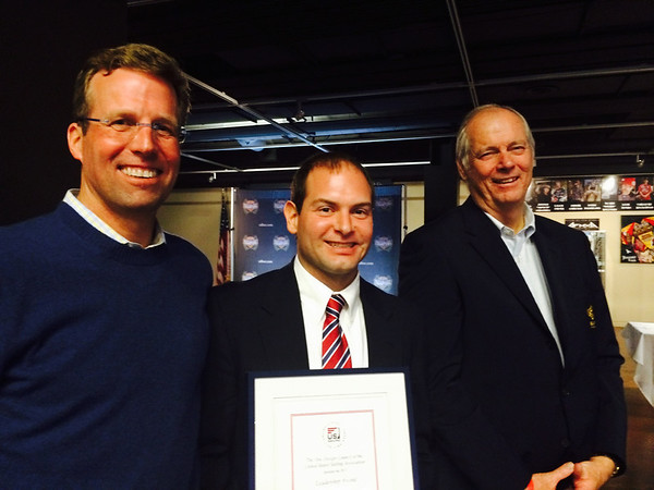 2/6 Jon with US Sailing Executive Director Jack Gierhart and Gary Jobson