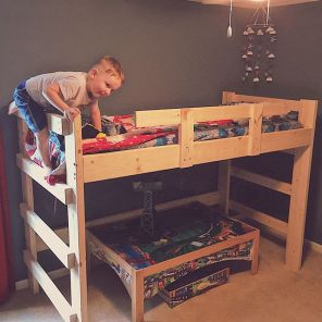 A bunk bed befitting the... - 2