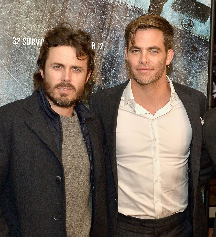 Chris Pine And Casey Affleck In The Finest Hours Movie